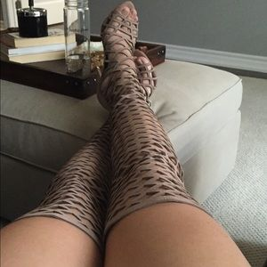Steve Madden cage boots